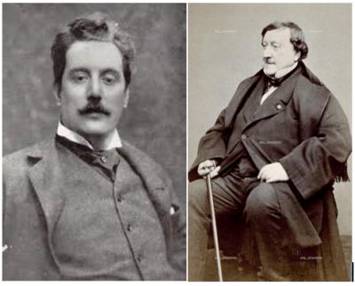 Gioachino Rossini e Giacomo Puccini – Inediti per pianoforte