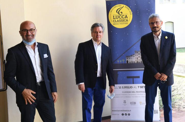 Il premio Lucca Classica 2020 consegnato ad Antonio Pappano