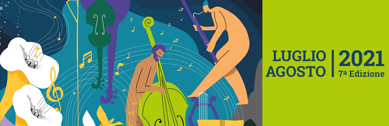 Un'estate di musica e parole (3 luglio – 30 agosto)