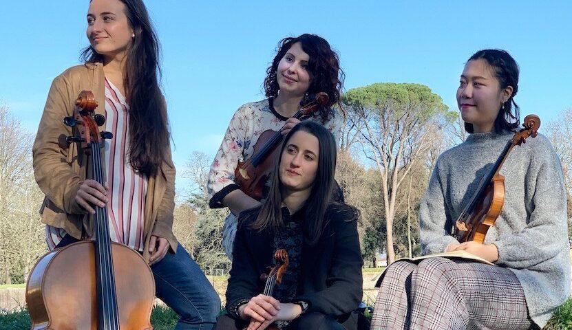 La musica e i luoghi – Palazzo Pfanner   Quartetto Dulce in corde